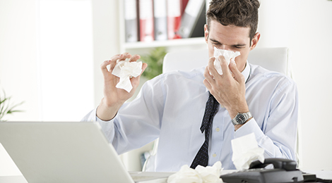 Cold and flu at the office.