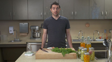 Philip Meeker shares a healthy way to pickle vegetables.
