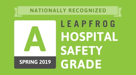 Leapfrog Hospital Safety Grade A Label