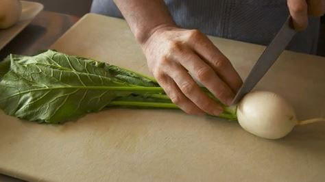 How to cook a turnip.