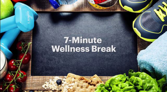 Wellness break graphic