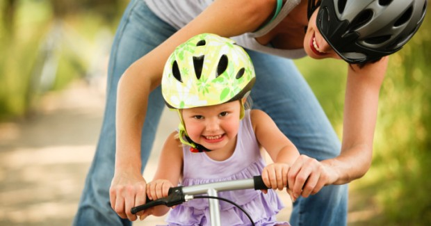 Bike safety for children