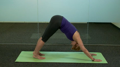 yoga steps on completing a full sun salutation  piedmont