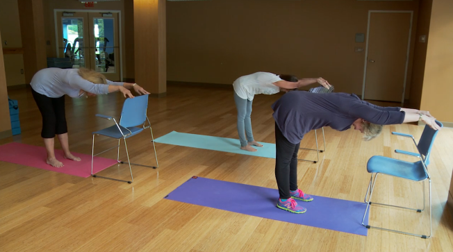 Three yoga moves for back pain relief