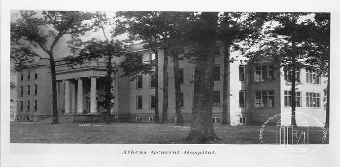 Piedmont Athens Regional Medical Center in 1919