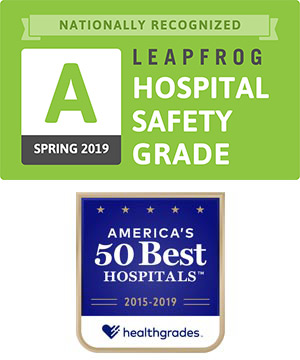 Leapfrog Hospital Safety Grade and Healthgrades